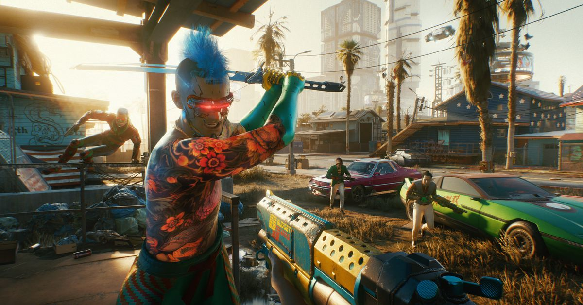 Cyberpunk 2077's latest patch fixes hundreds of bugs