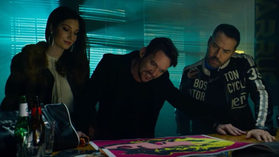 Paz Vega, Jonathan Rhys Meyers, and Jeremy Piven in American Night.