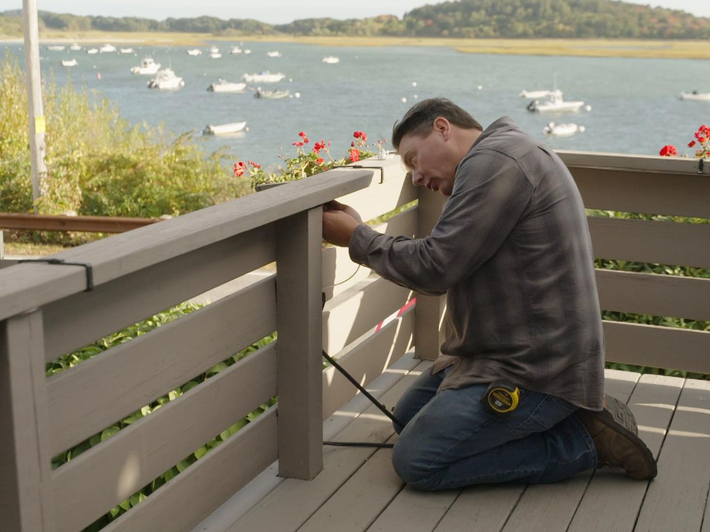 how to install decking lights this