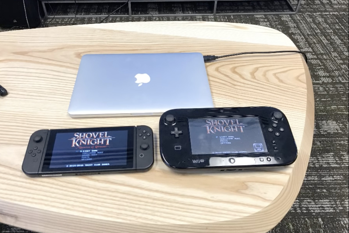 This Picture Of The Nintendo Switch And Wii U Is Kind Of
