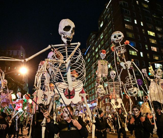 How To Watch The Halloween Parade If You Dont Actually Want To Go To The Halloween Parade