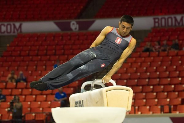 Stanford Men's Gymnastics: The Cardinal competed against ...