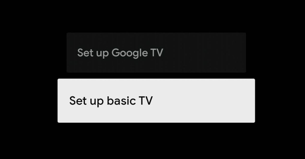 Google TV introduces a new 'Basic' mode to mute your smart TV