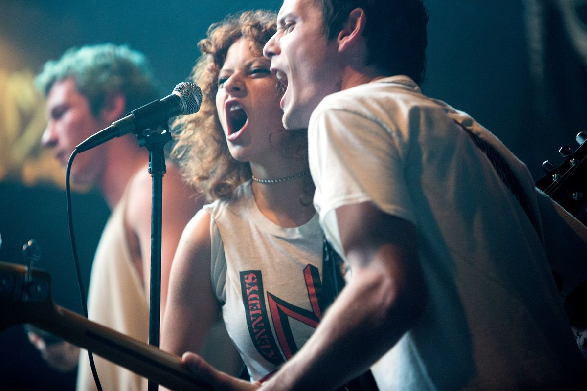 Green Room is the film equivalent of licking a public restroom floor. It's great. - Vox