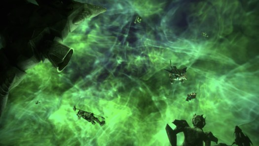 The Dead Universe where Solus Prime and The Fallen are floating around in Transformers: Earthrise