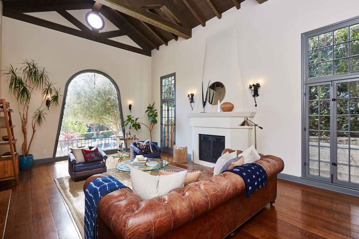 Spanish Style House With Original Details For Sale