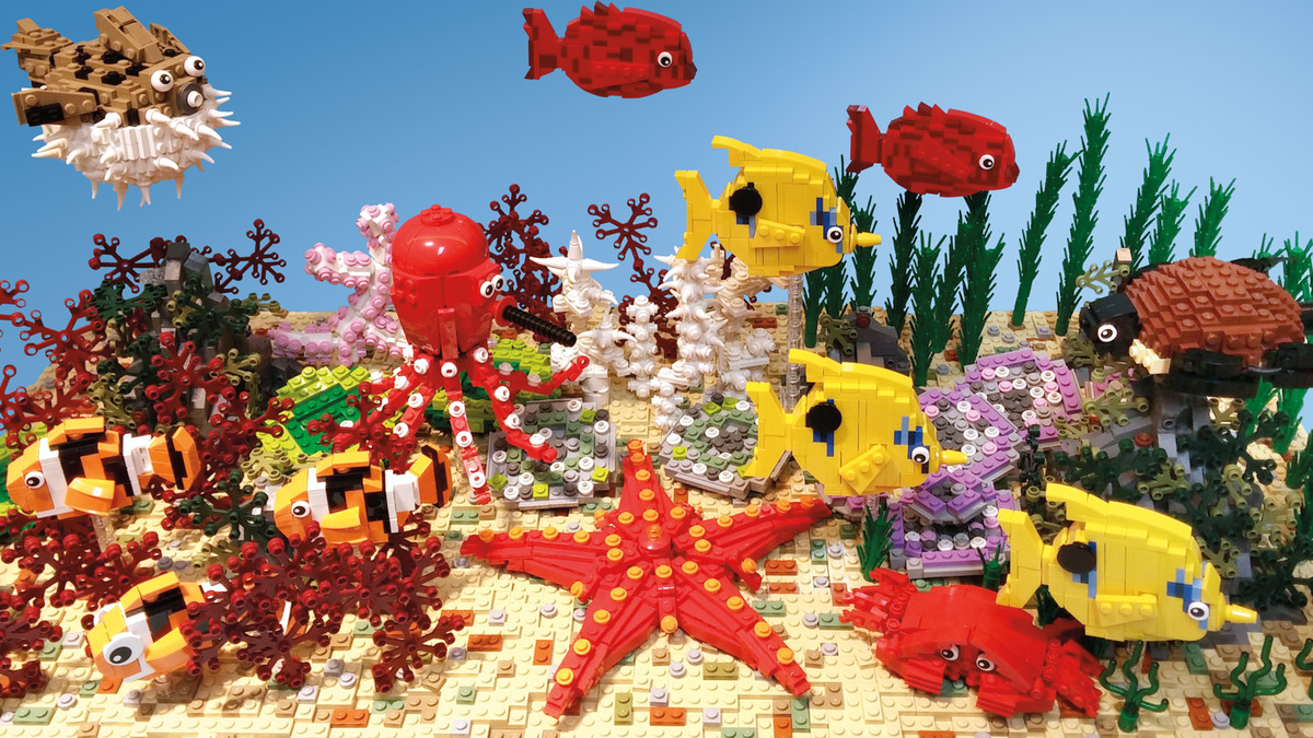 This LEGO art shows how toys can be beautiful   Vox This LEGO art shows how toys can be beautiful