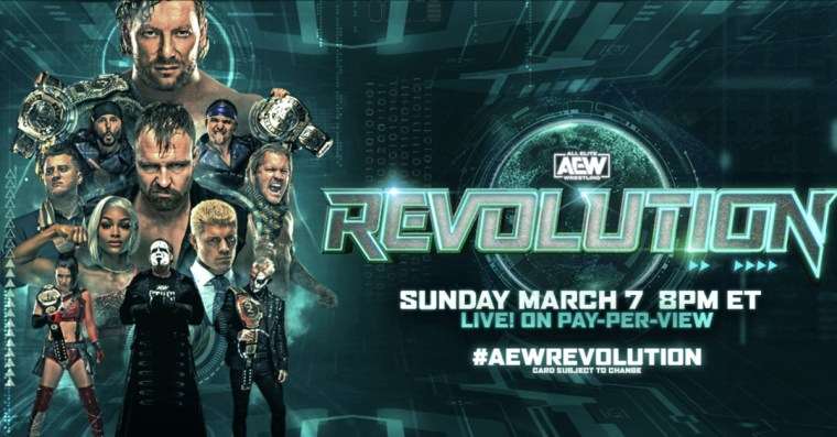 AEW Revolution 2021 match card: Will there be a second women's match?