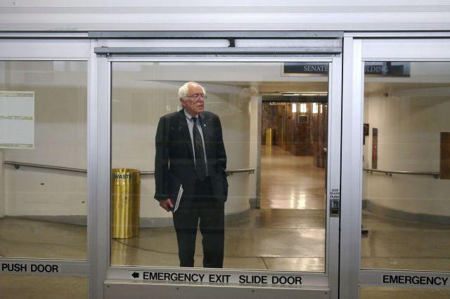 Sen. Bernie Sanders (I-VT) Holds Up Trade Bill Passage