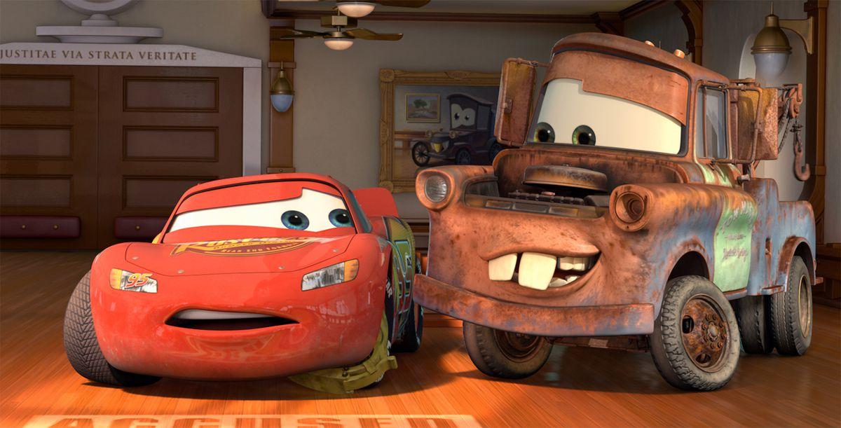 Lightning McQueen and Mater