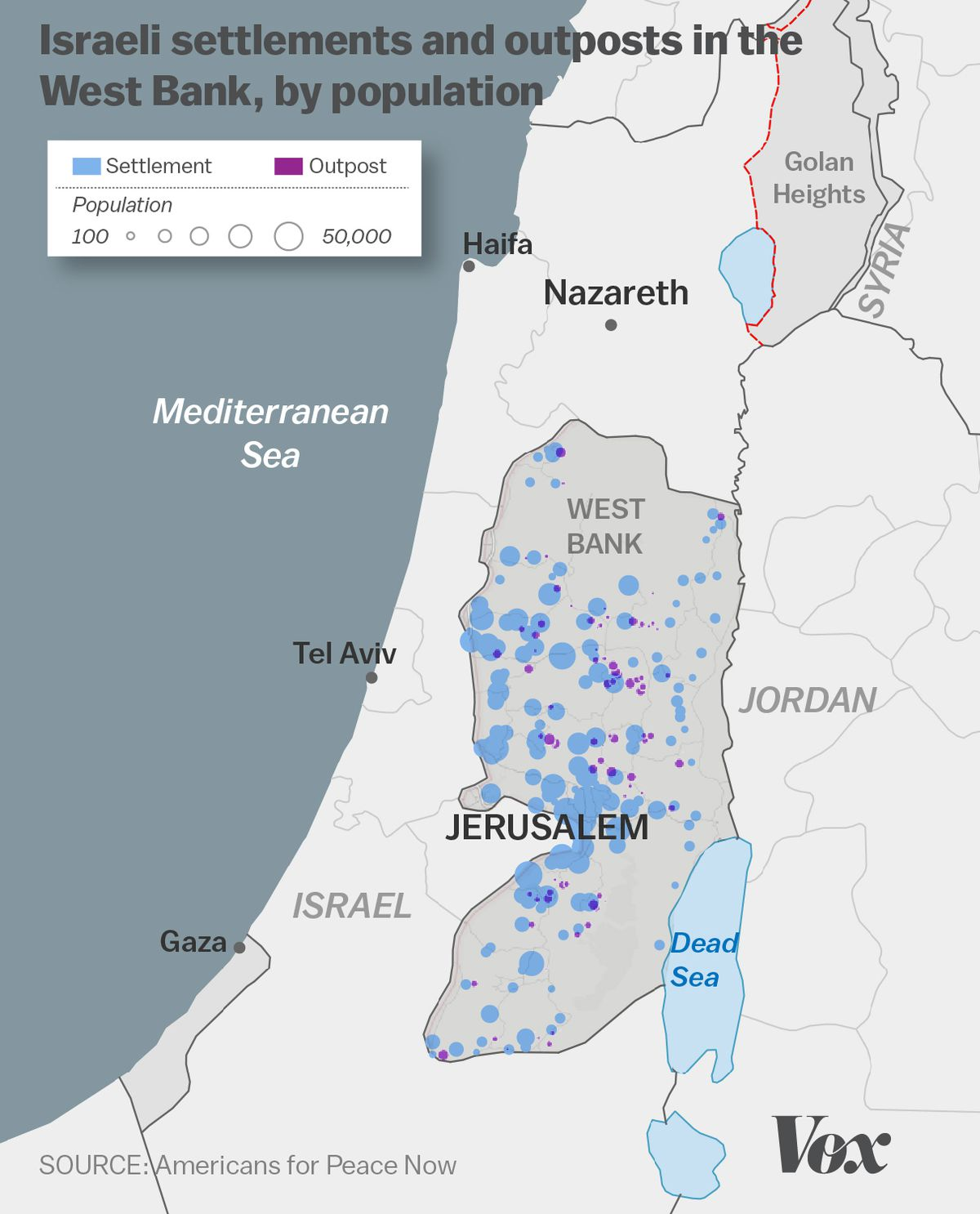 The Growth Of Israeli Settlements Explained In 5 Charts