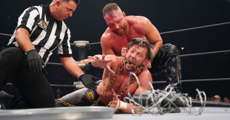 Moxley & Omega's Exploding Barbed Wire Deathmatch is happening too soon