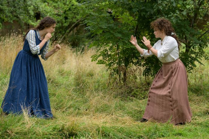 a daughter and mother engage in a sparring match
