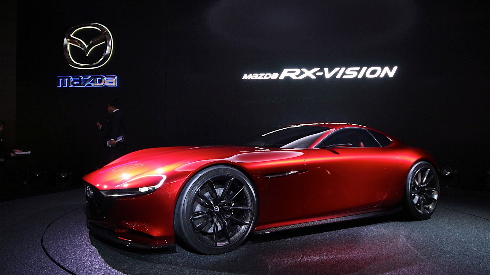 Mazdas Gorgeous RX Vision Concept Revives The Rotary