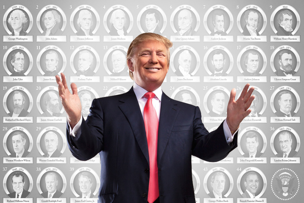 Donald Trump Is The Only Us President Ever With No
