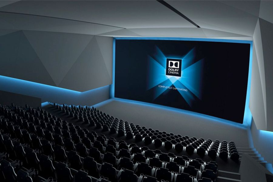 AMC and Dolby team up to make the laser powered movie theaters of         as higher resolution video  improved display technology  and streaming  services have changed the way we watch movies and TV  The good old movie  theater