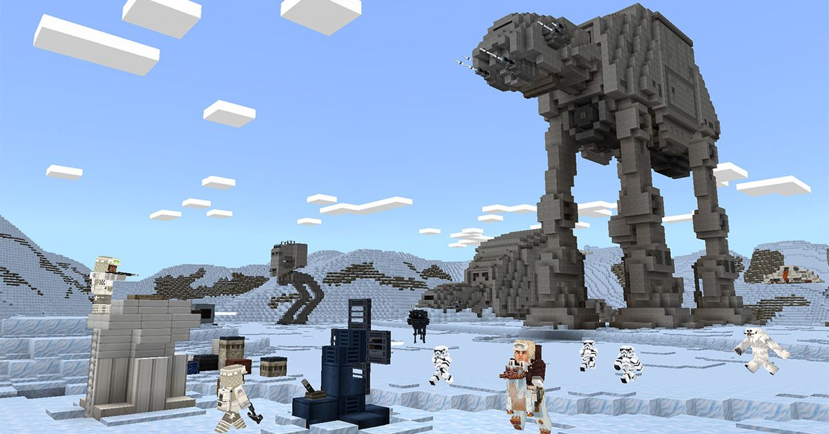 Star Wars comes to Minecraft