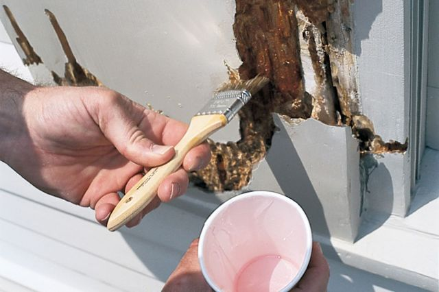 How to Repair Rotted Trim with Epoxy - This Old House