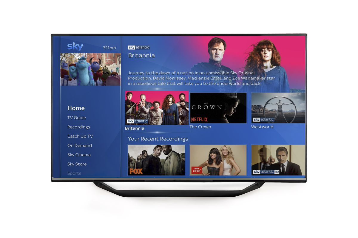 Sky Q Is Getting Spotify Netflix And HDR Support The Verge