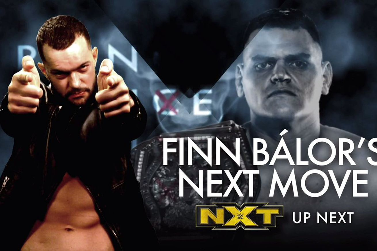Finn Bálor's next move might not be on NXT Prime