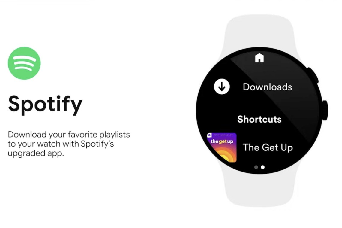 Spotify and YouTube Music will bring much needed offline tunes to Google's Wear watches