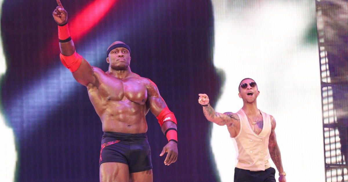 Lio Rush leads wrestling world as it cheers for Lashley's WWE title win
