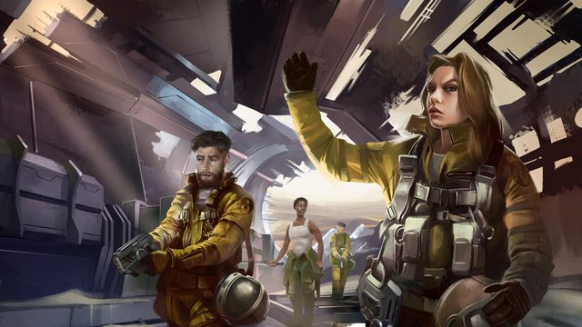 HW_QS_05_Investigating_the_Ship.0 The Homeworld tabletop RPG will include work from the game's original writer   Polygon