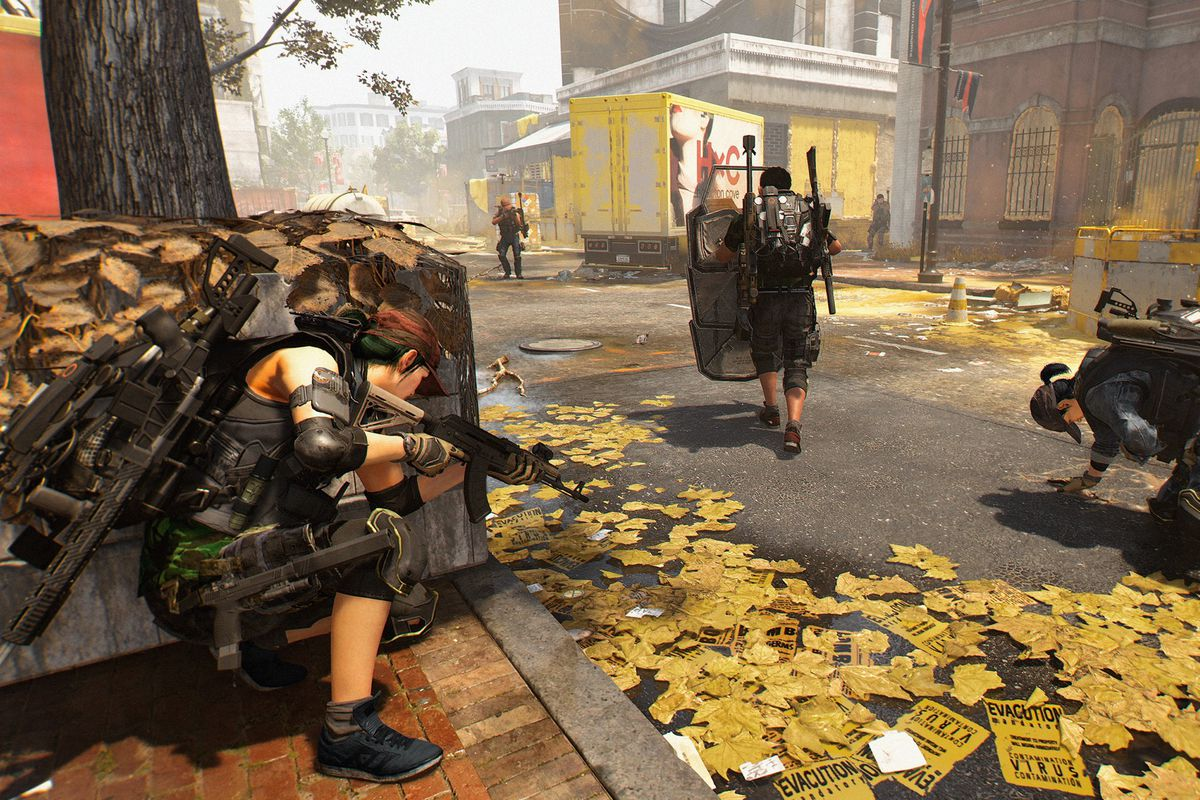 The Division 2 Occupied Dark Zone Guide Polygon