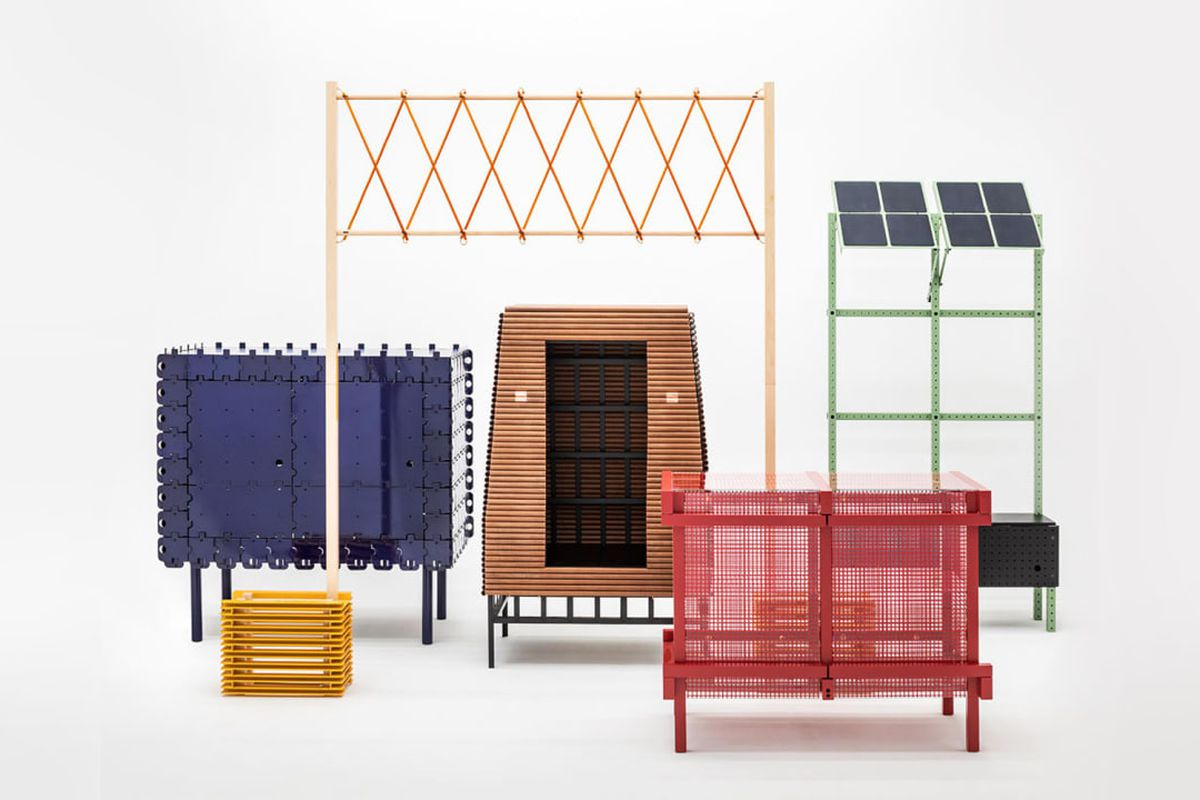 This Interactive Furniture Line Runs On Solar Power Curbed