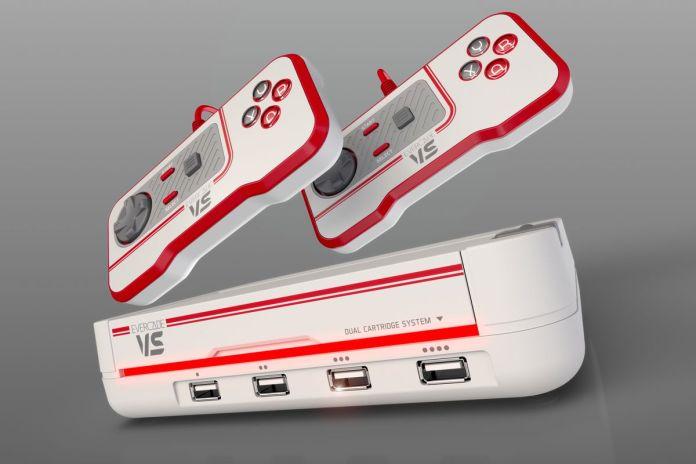 Evercade está haciendo una consola retro para tu televisor llamada VS -  Xingoos