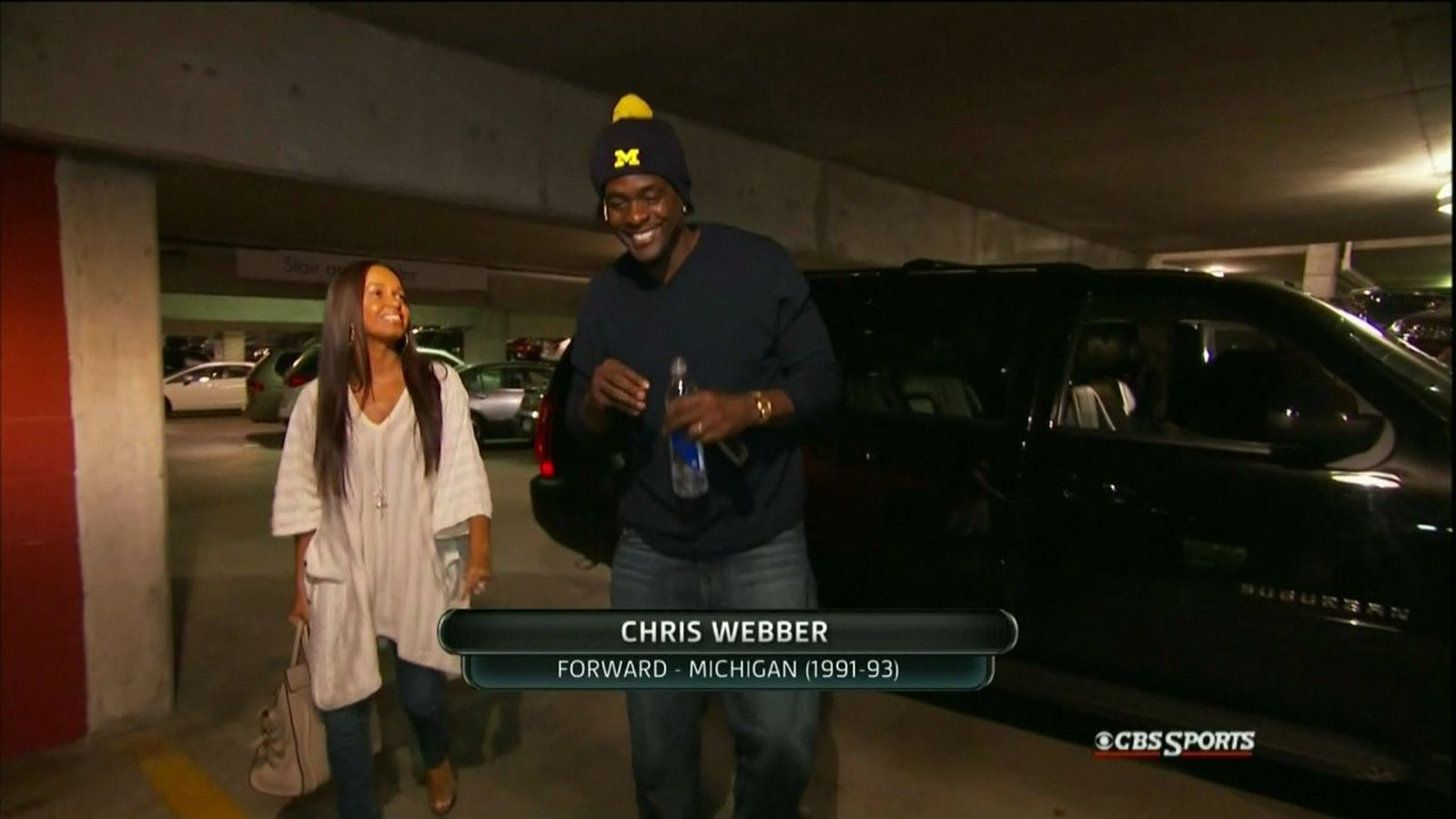 Michigan Vs Louisville Chris Webber Shows Up To National
