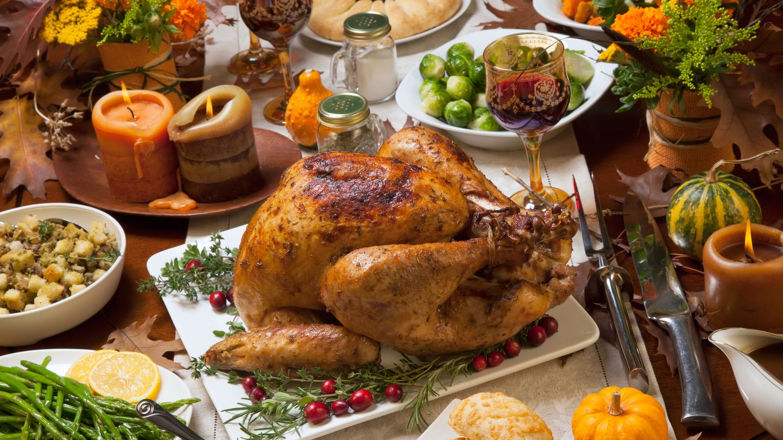 Turkey To Go And All The Fixings