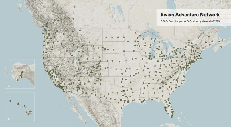 rivian map