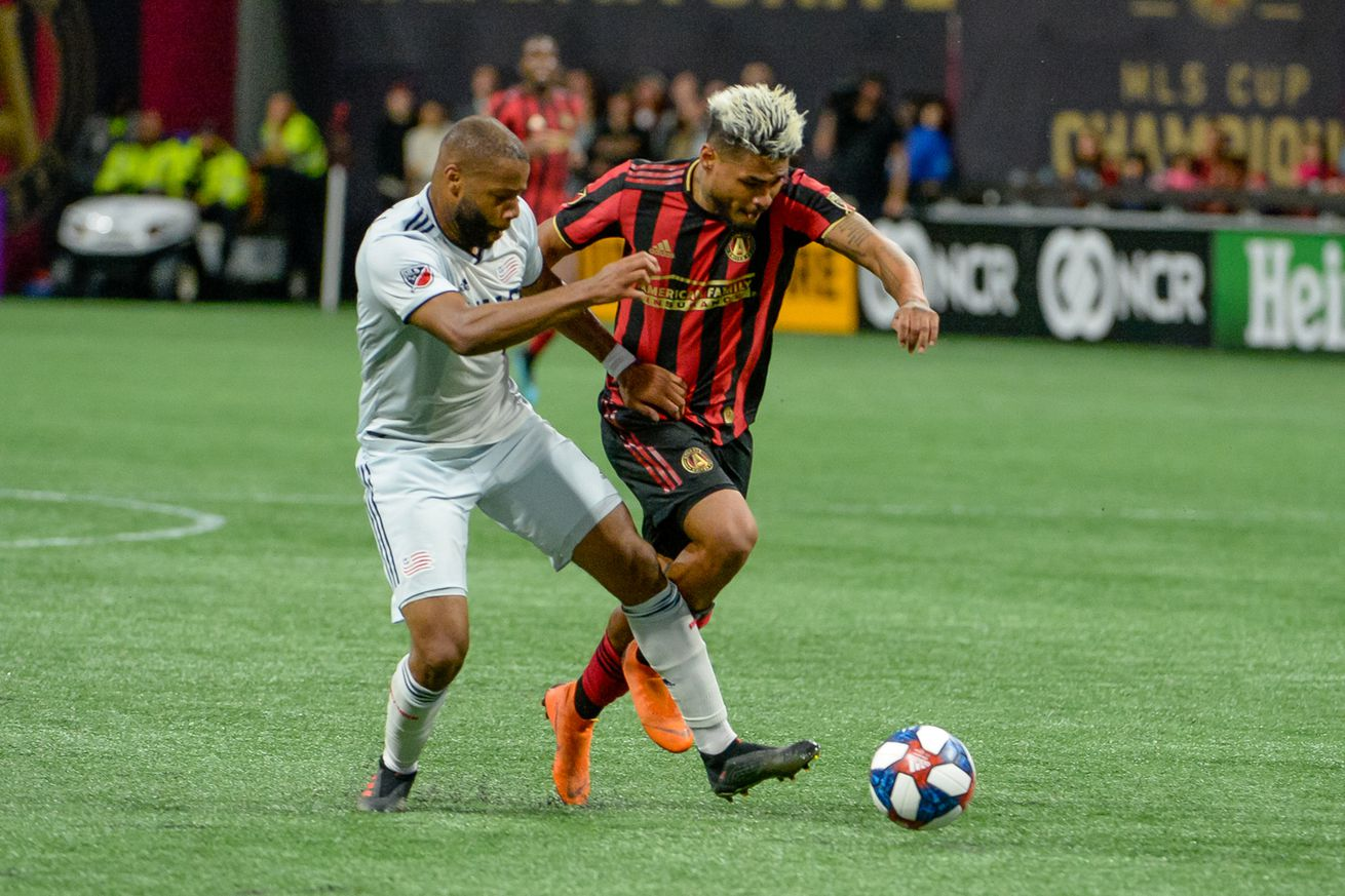 SOCCER: OCT 19 MLS Cup Playoffs - New England Revolution at Atlanta United FC