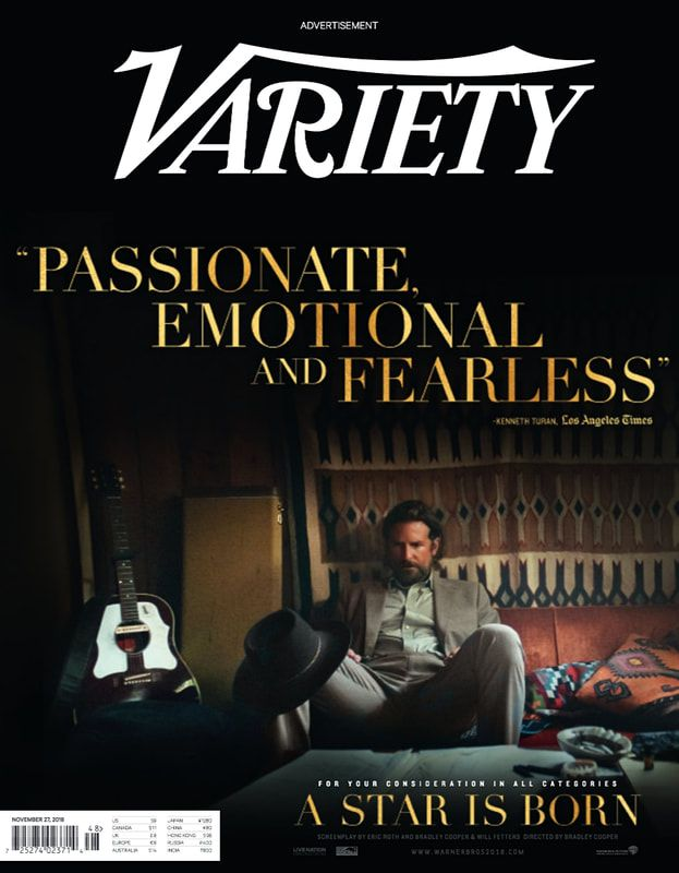 The FYC campaign for A Star Is Born included buying an ad on the front cover of Variety.