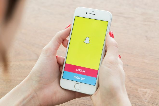 snapchat-stock-0963.0.0 400,000 people have registered to vote through Snapchat | The Verge