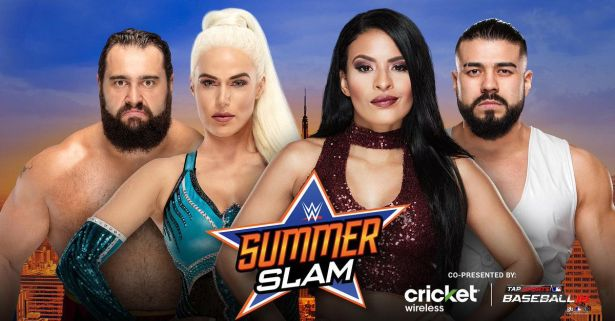 Image result for summerslam 2018 matches rusev lana