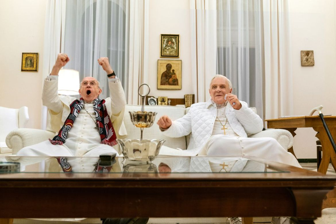 Image result for the two popes hd photo
