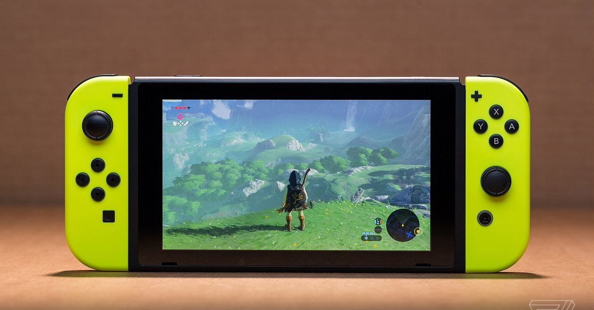 OLED Nintendo Switch reportedly uses new Nvidia chip with DLSS support