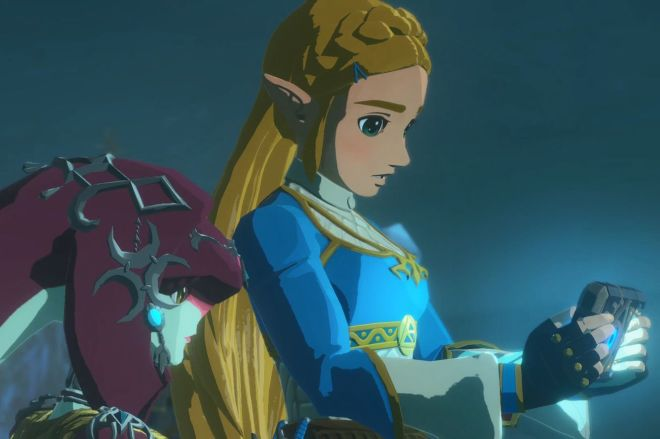 Switch_HyruleWarriorsAgeofCalamity_screenshot_02_copy.0 Hyrule Warriors: Age of Calamity isn't subtle, but it's still Zelda | The Verge