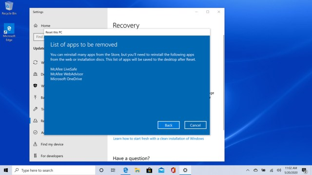 How to reset your Windows 8 PC when your having problems - The Verge