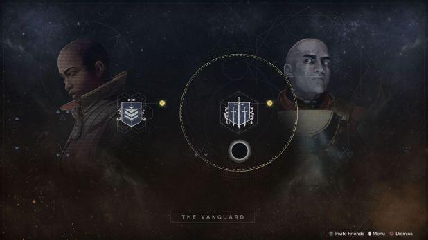 Destiny 2: Beyond the Light Strike Menu