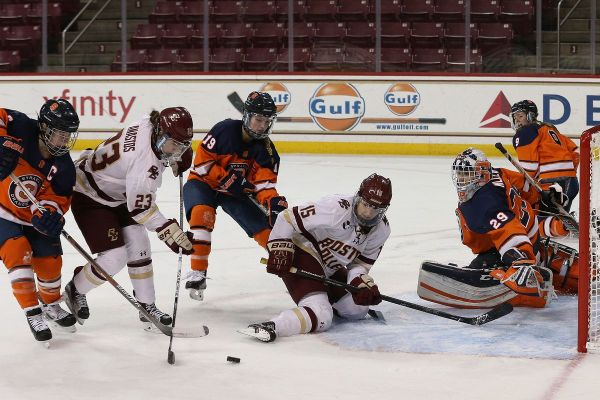 GOAL BY GOAL: BC Women's Hockey Guts Out 4-3 Win Over ...