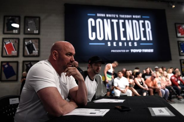 Dana White will kick off the second season of the Contender Series Tuesday night.