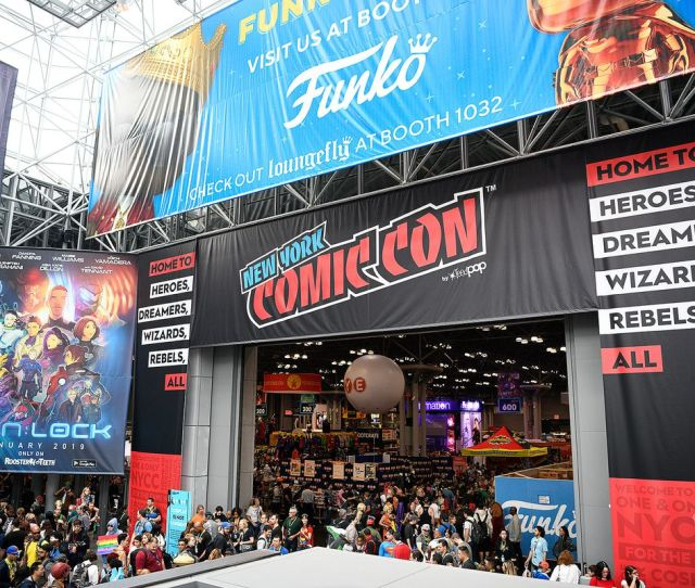 The Main Floor At New York Comic Con 2018 At The Jacob K Javits Convention Center In New York City October  Photo By Stefan Etienne The Verge