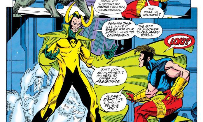 Loki in X-Men 2099# 5 (1994).