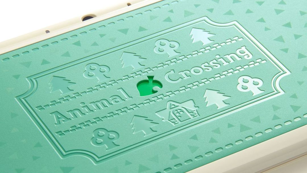 Detailing on the New Nintendo 2DS XL Animal Crossing edition.