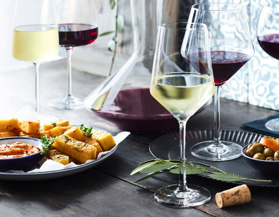 Schott Zwiesel glasses from the Pure collection
