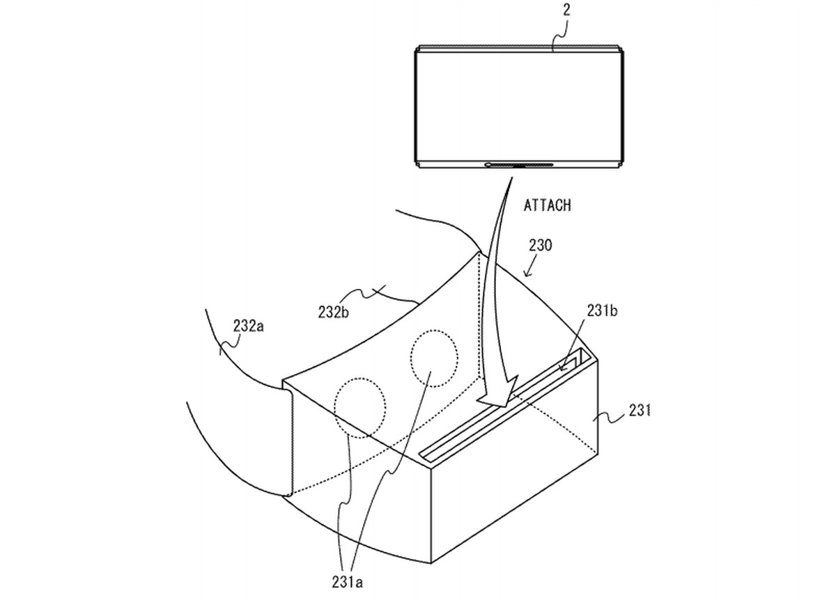 Nintendo Switch Vr Headset Shows Up In Patent
