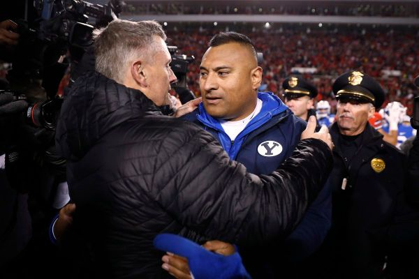Pac 12 finalizes dates with three BYU football 2019 ...